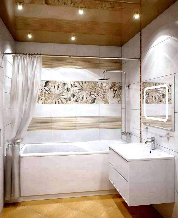 Современный дизайн ванной комнаты - фото примеров