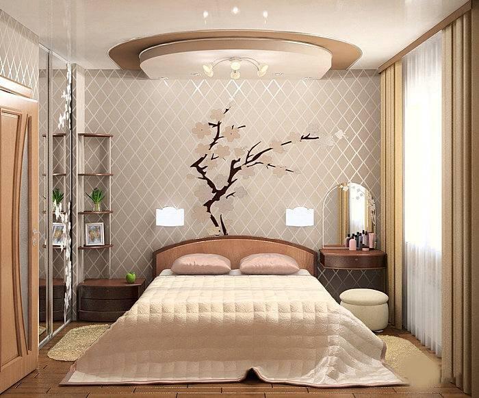 Дизайн спальной комнаты 12 кв.м