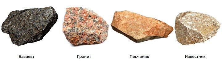 Подбор камней для альпийской горки