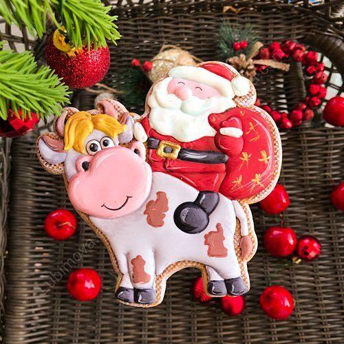 Дед Мороз и Белый бык