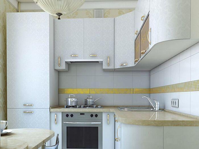 Современный дизайн кухни с угловой планировкой