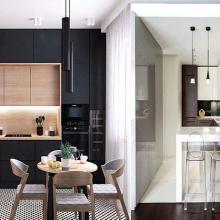 Дизайн маленькой кухни в современном стиле – основные фишки