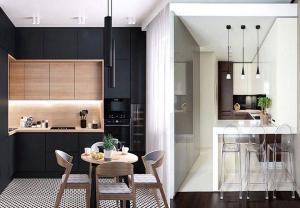 Дизайн маленькой кухни в современном стиле