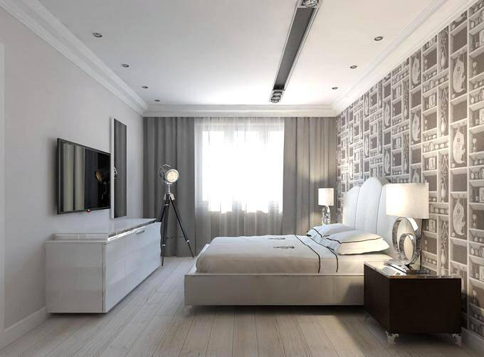 Дизайн спальни 18 кв.м в современном стиле