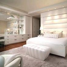 Дизайн спальни в современном стиле в светлых тонах: все важные моменты