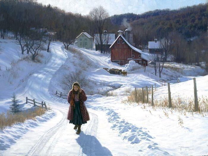 Зима в Мидуэй