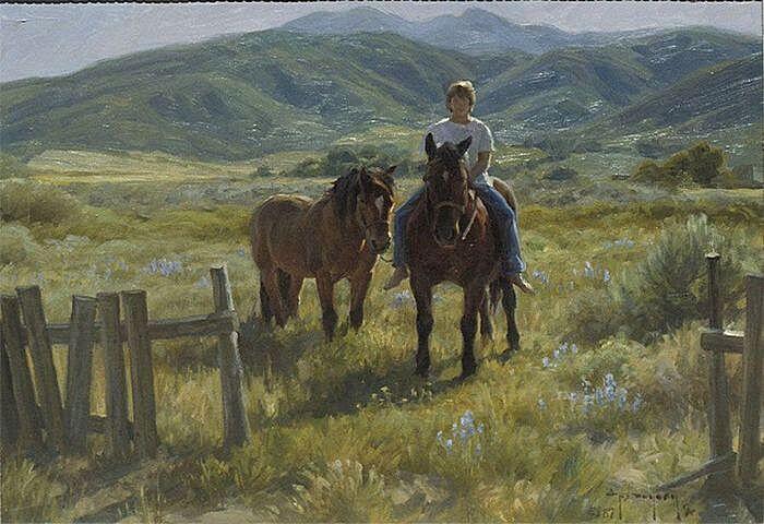 Молодой ковбой