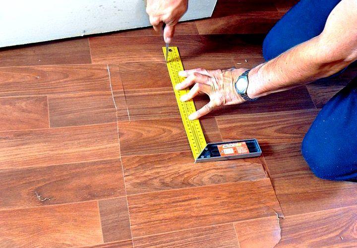 Как отремонтировать линолеум на полу своими руками